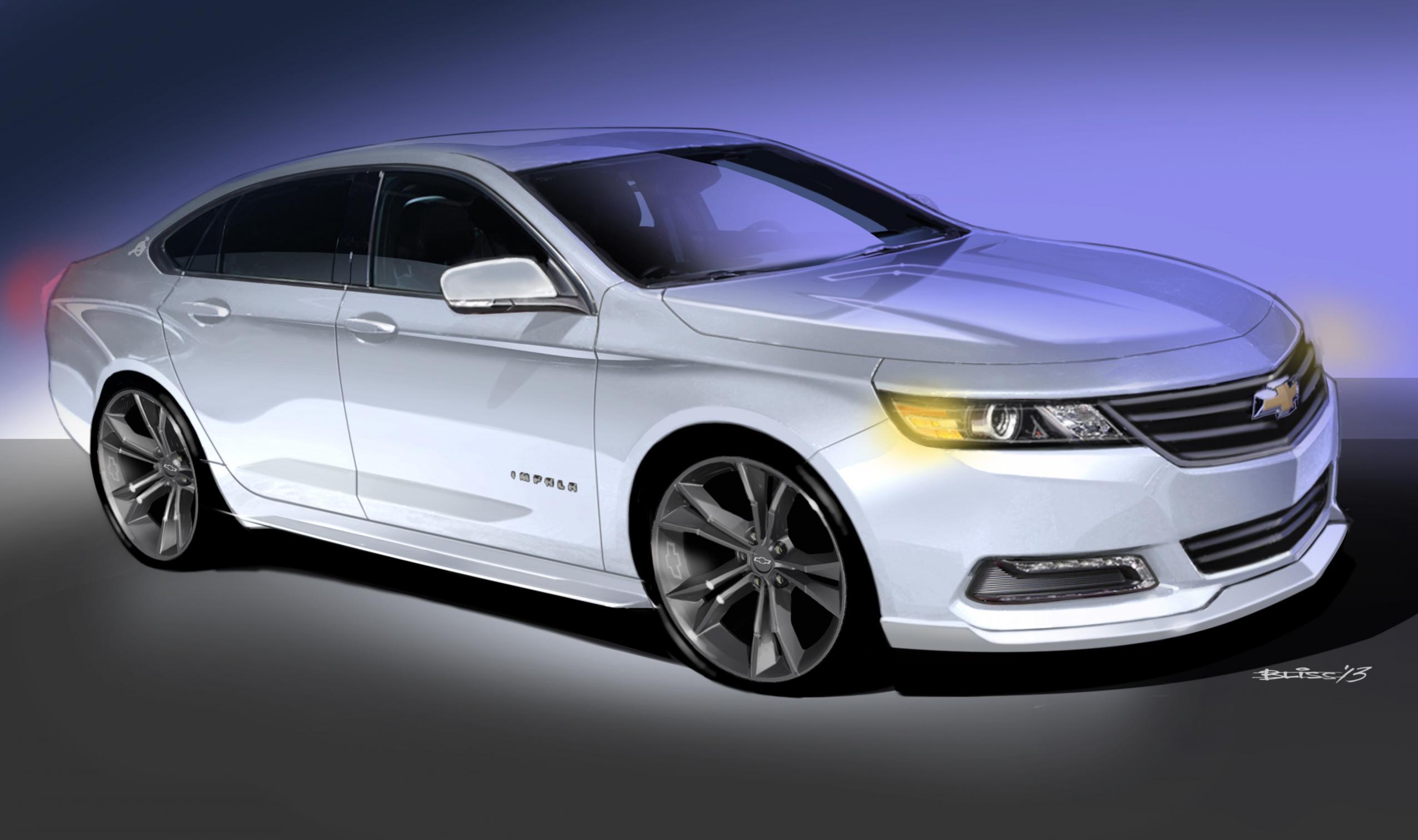 Modified 9th generation impalas thread 1105013 2013 sema chevrolet urbancool