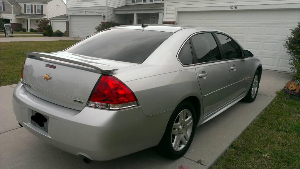 Tint 2012 Lt Chevy Impala Forums