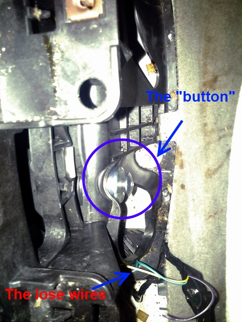 2010 chevy impala gear shift stuck in park