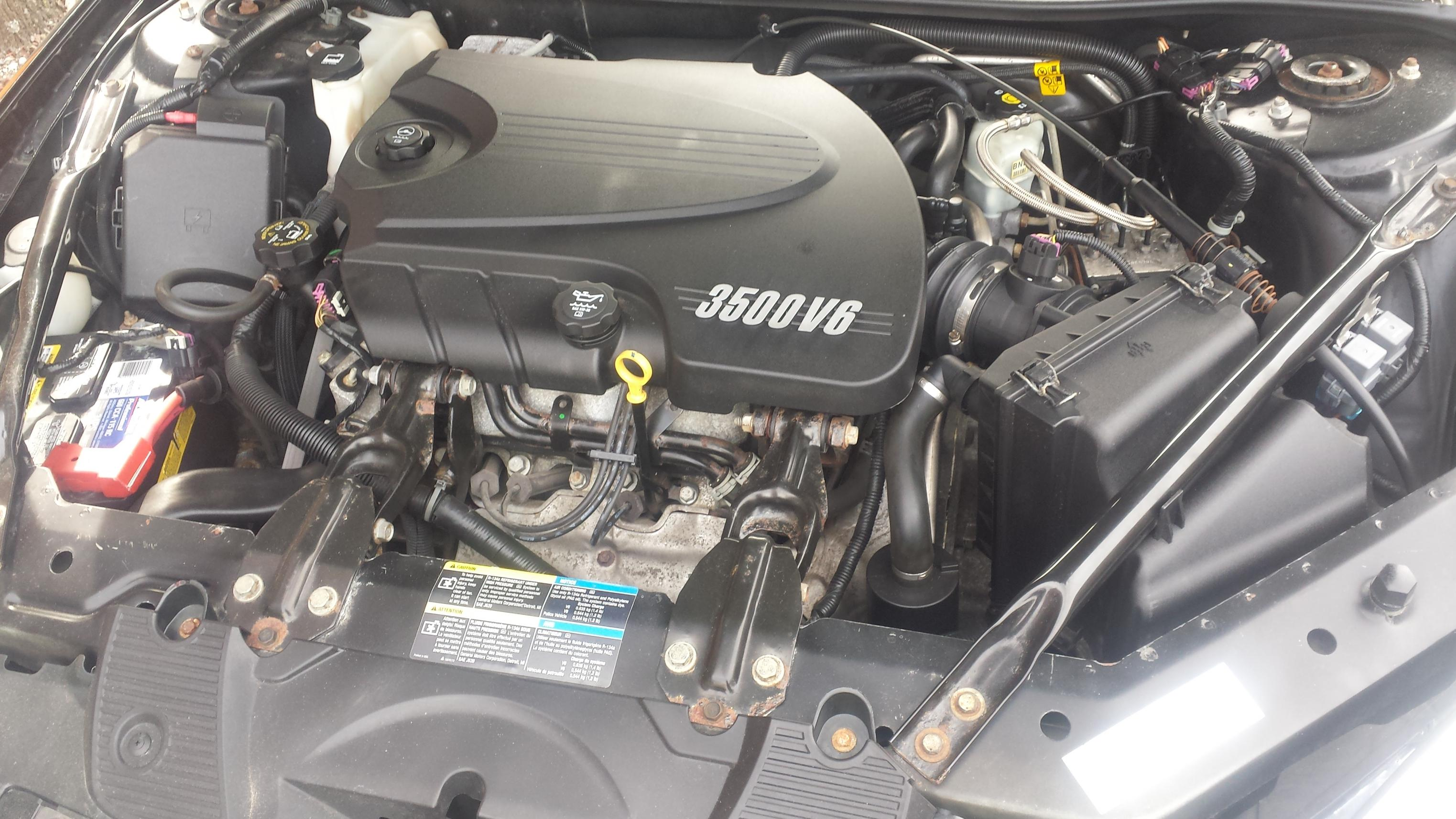 Chevy 3 3 >> under my hood - Chevy Impala Forums