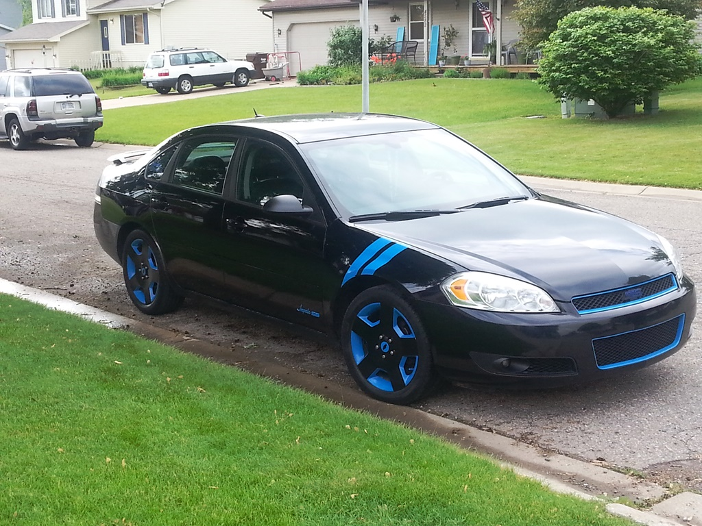 Impala 2009 chevy impala body kit : 7th gen With Rally Stripes On Front Fender? - Page 2 - Chevy ...