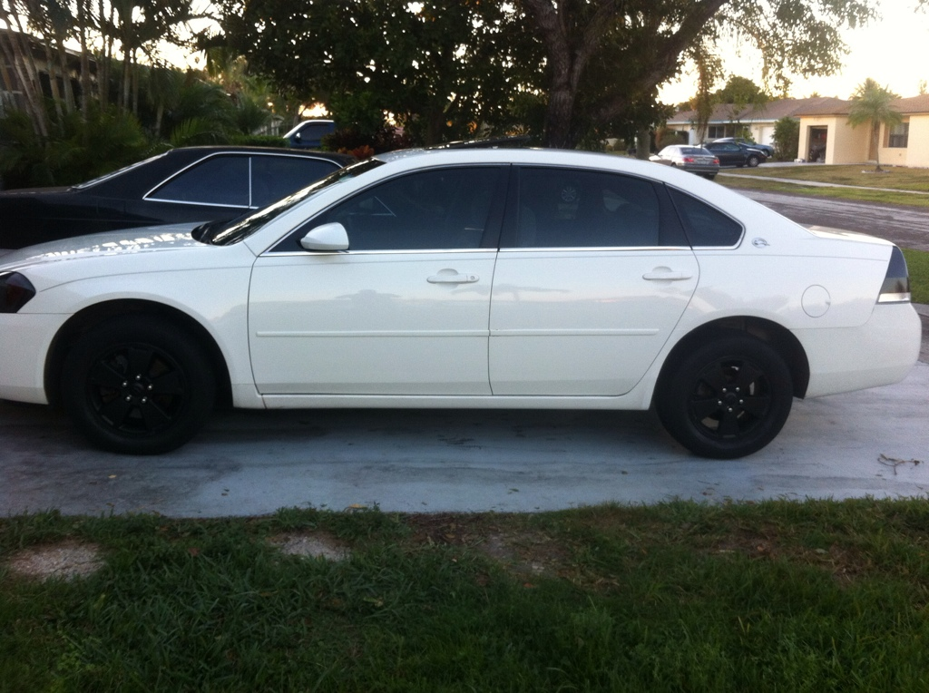 Plasti Dipped My Rims Chevy Impala Forums