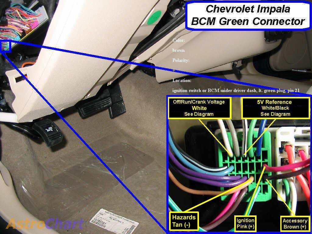 bcm partial pinout chevy impala forums