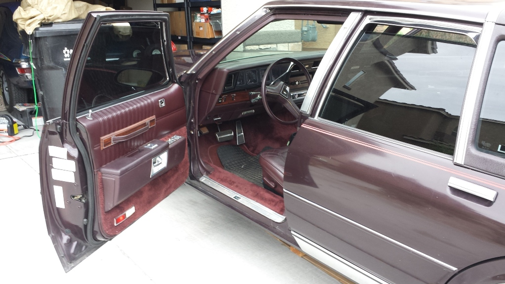 For Sale Black Cherry 1989 Chevy Caprice Brougham LS ...