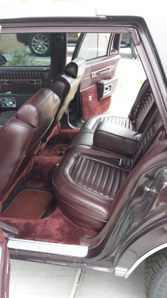 For Sale Black Cherry 1989 Chevy Caprice Brougham LS - Chevy Impala