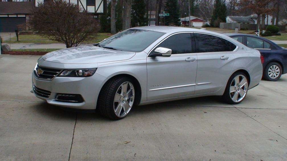 2015 Impala Ltz With Camaro Wheels Chevy Impala Forums