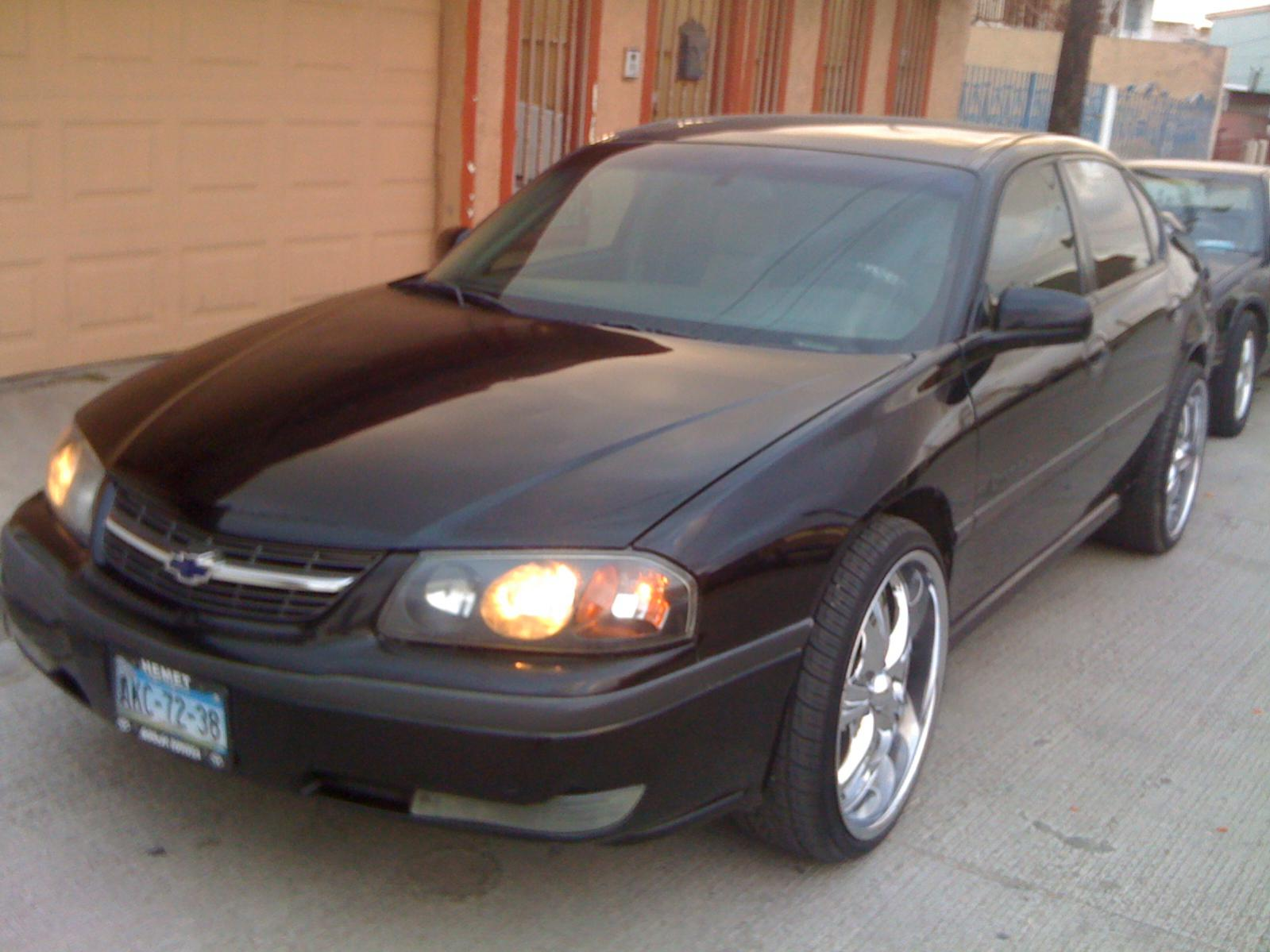 All Chevy chevy 22 inch rims impala 2004 whit 22 rims and in dash toch - Chevy Impala Forums