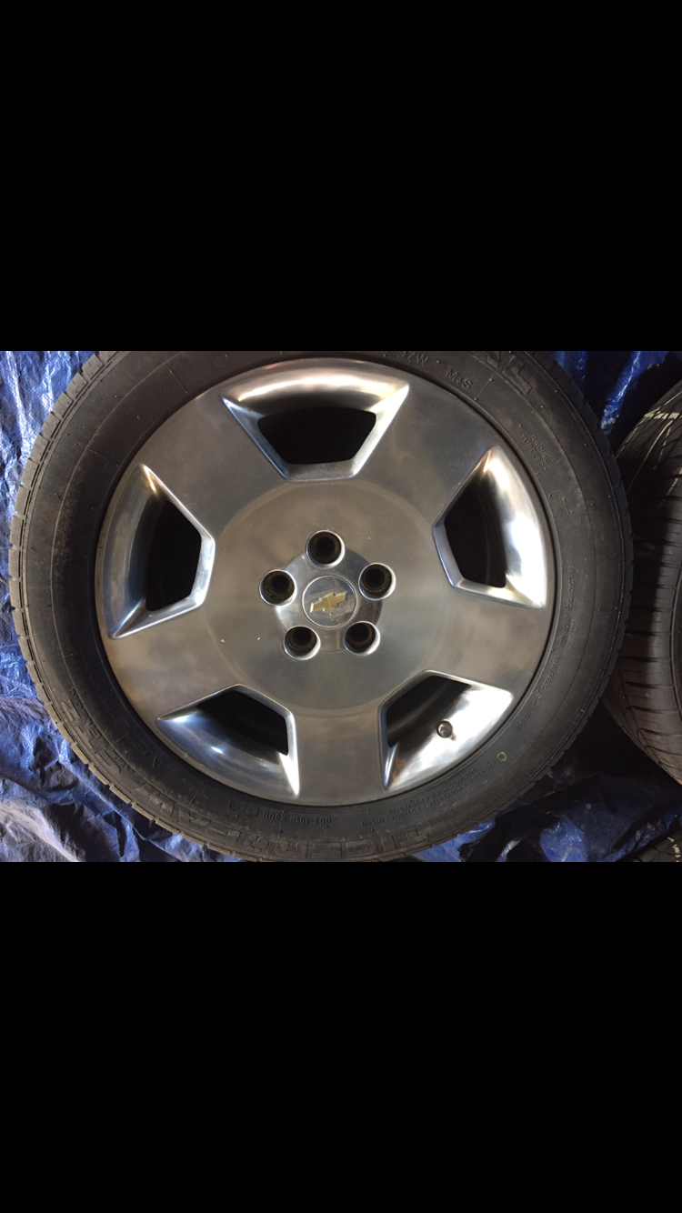 What Size Are My Tires >> Selling 2006 Impala SS OEM wheels and tires - Chevy Impala ...
