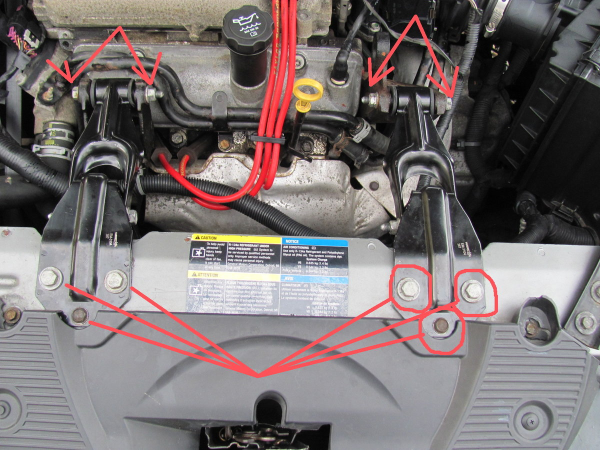 2007 Chevy Impala Rear Valve Cover Removal Impala Forums