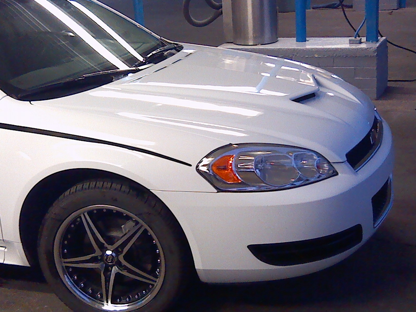 New Stripes And Painted Hood Chevy Impala Forums