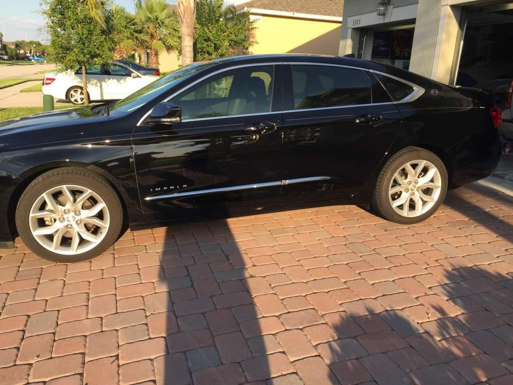 Impala 2009 chevy impala body kit : LTZ body side moldings on a LT - Chevy Impala Forums
