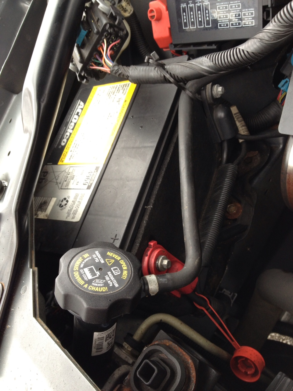 Impala 2000 chevrolet impala problems : Is it impossible to remove and replace 2004 impala battery ...