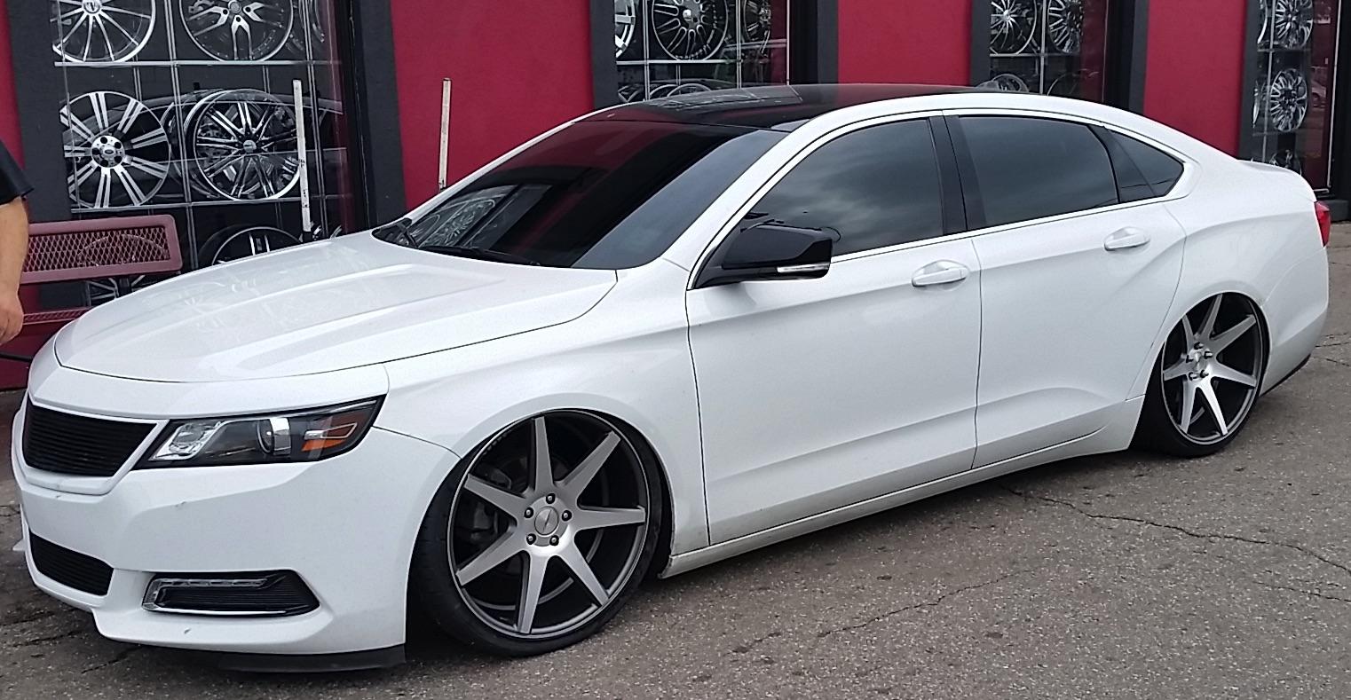 Impala 2009 chevy impala body kit : Eibach 2015 Impala Lowering Kit - Group Buy - Chevy Impala Forums