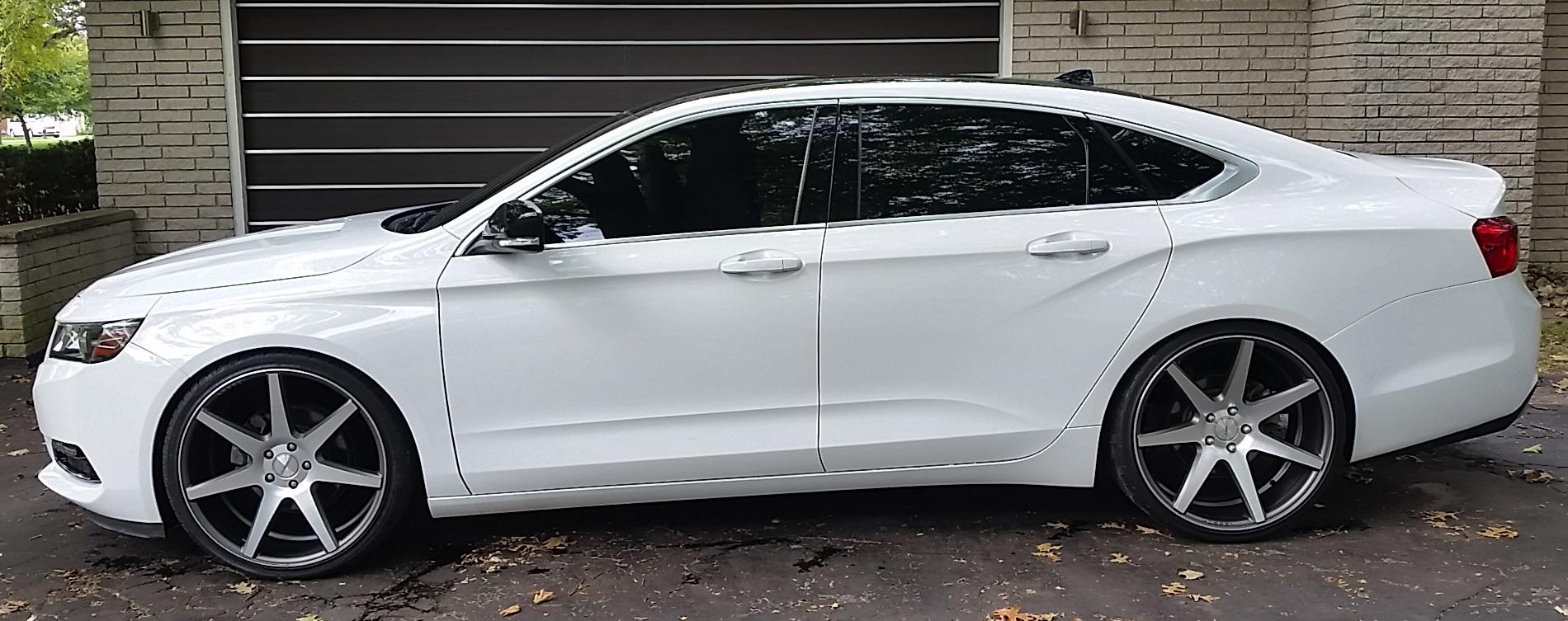 Eibach 2015 Impala Lowering Kit - Group Buy - Chevy Impala Forums