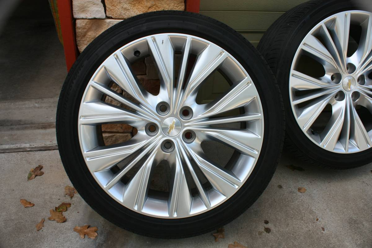 "Rims Near Me >> Factory 20"" wheel and tire package, 2016 LTZ - Chevy ..."