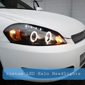 Spyder LED Halo Headlights